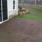 Brick Patio by New England Landscaping, Spencer, MA
