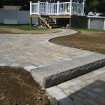Patio and Walkway by New England Landscaping, Spencer, MA
