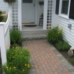 Walkway by New England Landscaping, Spencer, MA
