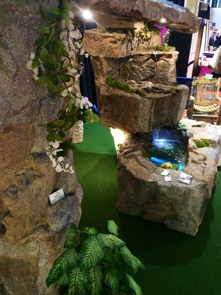 Rockscape Innovations Home Show Display